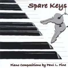 Cover image of the album Spare Keys by Paul L. Fine