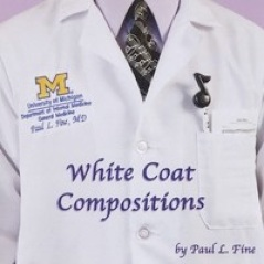 Cover image of the album White Coat Compositions by Paul L. Fine