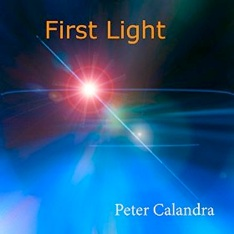 Cover image of the album First Light by Peter Calandra