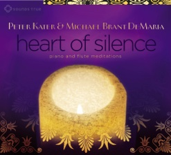 Cover image of the album Heart of Silence by Peter Kater and Michael Brant DeMaria