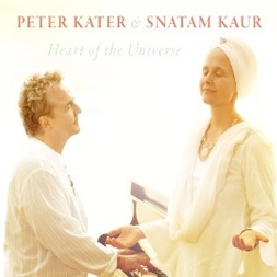 Cover image of the album Heart of the Universe by Peter Kater