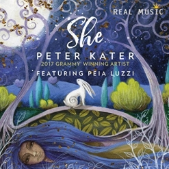 Cover image of the album She by Peter Kater