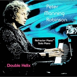 Cover image of the album Double Helix by Peter Manning Robinson