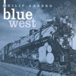 Cover image of the album Blue West by Philip Aaberg