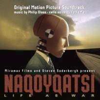 Cover image of the album Naqoyqatsi by Philip Glass