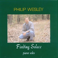 Cover image of the album Finding Solace by Philip Wesley