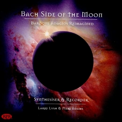 Cover image of the album Bach Side of the Moon by Piers Adams