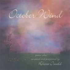 Cover image of the album October Wind by Rebecca Oswald