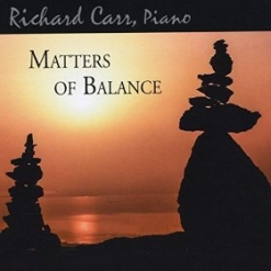 Cover image of the album Matters of Balance by Richard Carr