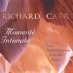 Cover image of the album Momente Intimate by Richard Carr