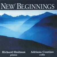 Cover image of the album New Beginnings by Richard Shulman