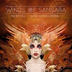 Cover image of the album Winds of Samsara by Ricky Kej and Wouter Kellerman