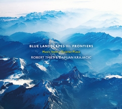 Cover image of the album Blue Landscapes III: Frontiers by Robert Thies and Damjan Krajacic