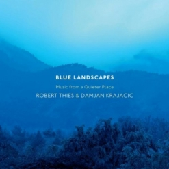 Cover image of the album Blue Landscapes by Robert Thies and Damjan Krajacic