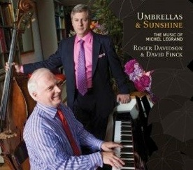 Cover image of the album Umbrellas and Sunshine by Roger Davidson and David Finck