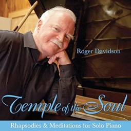 Cover image of the album Temple of the Soul by Roger Davidson