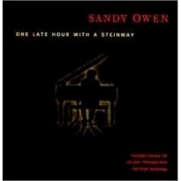 Cover image of the album One Late Hour With a Steinway by Sandy Owen
