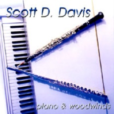 Cover image of the album Piano & Woodwinds by Scott D. Davis