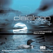 Cover image of the album Clair de Loon by Serge Mazerand