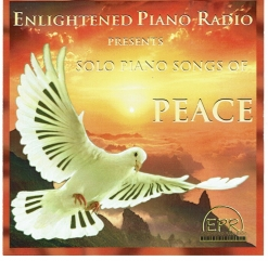 Cover image of the album Solo Piano Songs of Peace by Cathy Oakes