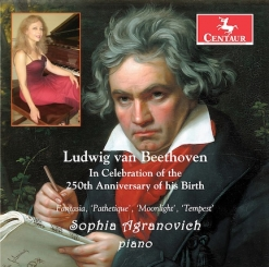 Cover image of the album Beethoven: In Celebration of 250th Anniversary of his Birth by Sophia Agranovich