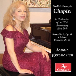 Cover image of the album Frédéric François Chopin by Sophia Agranovich