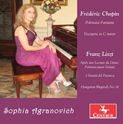 Cover image of the album Chopin & Liszt: Piano Works by Sophia Agranovich