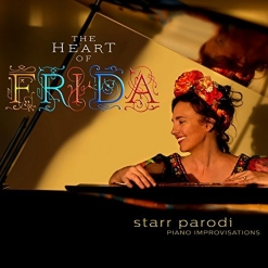 Cover image of the album The Heart of Frida by Starr Parodi