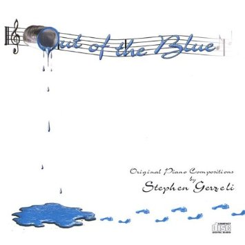 Cover image of the album Out of the Blue by Stephen Gerzeli