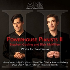 Cover image of the album Powerhouse Pianists II by Stephen Gosling
