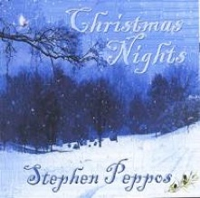 Cover image of the album Christmas Nights by Stephen Peppos