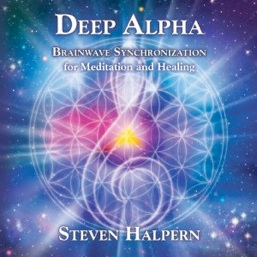 Cover image of the album Deep Alpha by Steven Halpern