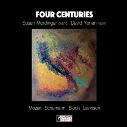 Cover image of the album Four Centuries by Susan Merdinger
