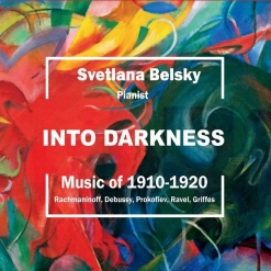 Cover image of the album Into Darkness: Music of 1910-1920 by Svetlana Belsky
