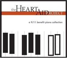 Cover image of the album The Heart Aid Project: A 9/11 Benefit Piano Collection by Craig Casey