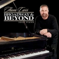 Cover image of the album Broadway & Beyond by Thom Carr