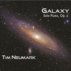 Cover image of the album Galaxy, Op. 6 by Tim Neumark