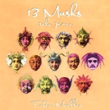 Cover image of the album 13 Masks by Tobin Mueller
