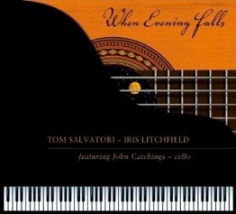 Cover image of the album When Evening Falls by Tom Salvatori