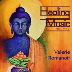 Cover image of the album Healing Music, Volume 2 by Valerie Romanoff