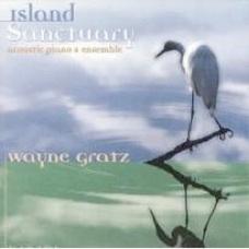 Cover image of the album Island Sanctuary by Wayne Gratz