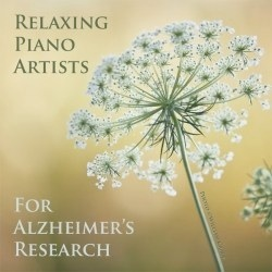 Cover image of the album Relaxing Piano Artists for Alzheimer's Research by Whisperings Solo Piano Radio
