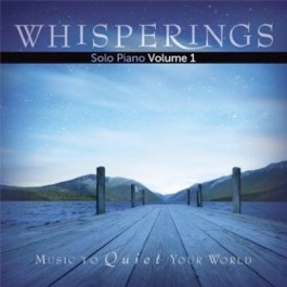 Cover image of the album Whisperings Solo Piano Volume 1 by David Lanz