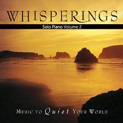Cover image of the album Whisperings Solo Piano Volume 2 by David Nevue
