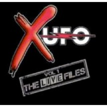 Cover image of the album Vol 1 The Live Files by X-UFO
