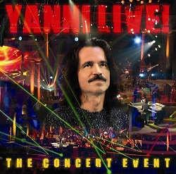 Cover image of the album Live! The Concert Event by Yanni