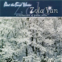 Cover image of the album Paint the Forest Winter by Zola Van