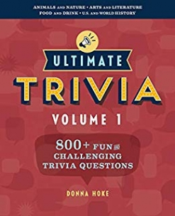 Cover image of the product Ultimate Trivia, Volume 1 by Donna Hoke