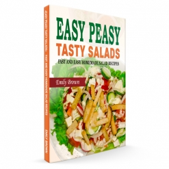 Cover image of the product Easy Peasy Tasty Salads by Emily Brown / Easy Peasy Kitchen