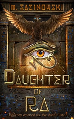 Cover image of the product Daughter of Ra by M. Sasinowski